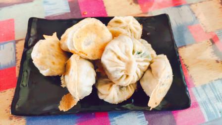 孩子不喜欢吃菜,可以做皮薄馅多的蒸饺,做法简单营养美味!