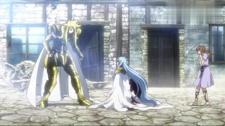 圣斗士星矢:以美貌著称的男人,和强敌同归于尽后,连死亡画面也这么唯美
