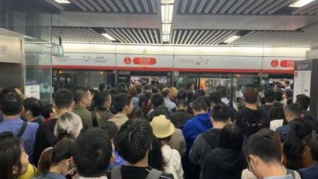 杭州地铁早高峰延误 官方:信号故障