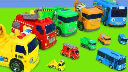 最新挖掘机视频表演10025大卡车运输挖土机+挖机工作+工程车