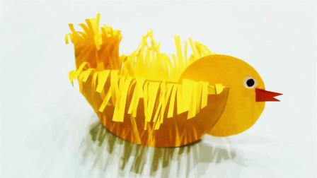儿童手工制作大全愤怒的小鸡创意手工DIY制作