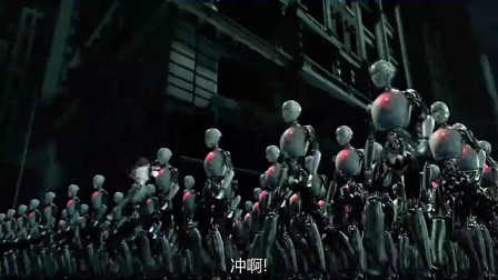 美女设计的大批机器人不受控制,开始疯狂的攻击人类,残忍暴力
