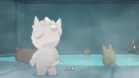 京剧猫:白糖正在喊,这时来了一个大猫,他能挣到第一桶金吗?