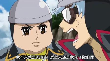银魂:没想到土方与自己的哥哥一直都有联系,还委托小弟去送信