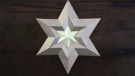 """这种折纸作品要火了!教你折纸""""白金之星"""",超有创意,值得收藏"""
