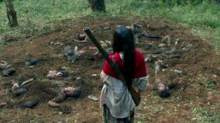 影视:女孩躲避追赶,不小心误入动物保护区,却发现一大片藏尸地