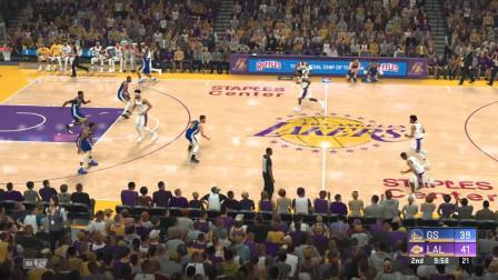 湖人 VS 勇士 NBA2K20季前赛模拟10月17