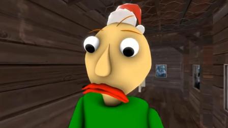 巴尔迪老师的审美水平很低?他装饰的圣诞树不被小朋友喜欢