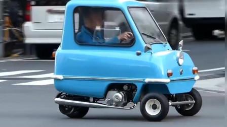 微型mini迷你小汽车,发动机和超级幼兽相似!