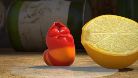 爆笑虫子:红虫太惨了,被鸟粪砸中又吃了一个柠檬