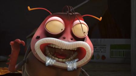 爆笑虫子:蜗牛吃柠檬,差点把虫虫气哭