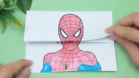 见过蜘蛛侠整容变脸长相?三次变化有趣又搞笑,这个样子你喜欢吗