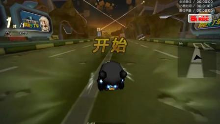 跑跑卡丁车:S1手动挑战遗忘孤城,这记录比无缝还快