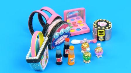 看后秒懂,芭比娃娃新款包包DIY制作原型大揭秘,看完我就转发了