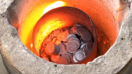 老外准备1000枚硬币,将其制作成这种东西,这波亏了还是赚了