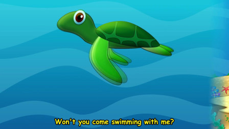宝宝喜欢的海洋动物儿歌 Under The Sea