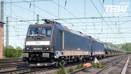 火车模拟世界2020 - 莱茵鲁尔东 #2:图定传统艺能?牵引机车受电弓故障 | Train Sim World