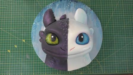 """""""夜煞""""被牛人做成翻糖蛋糕,这超萌大眼睛看着你,舍得下口吗?"""