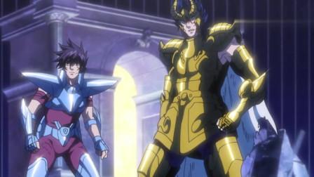 圣斗士星矢:被打败的三神复活了,四个神竟然当场合体