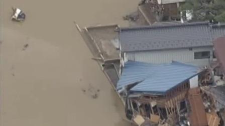 """新闻直播间 2019 凶猛""""海贝思""""继续影响日本,造成至少66人死亡,超5500人避难"""