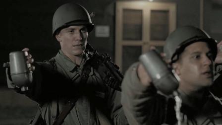 兄弟连:夜跑12里还不让喝水,士兵偷喝被长官发现,这下遭殃了