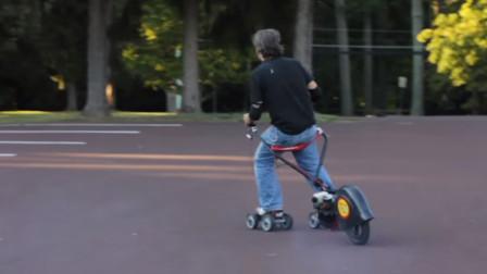 60岁大爷发明轮滑加速器,成本只要500元,却被富商50万买走!