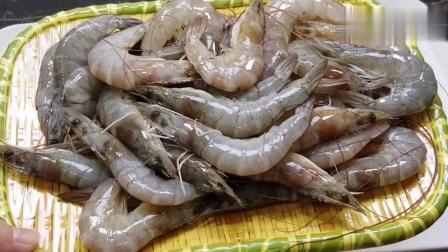 客家菜最常见的煎虾饼, 美味可口