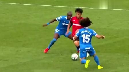 久保建英号称日本梅西,年仅18球技就如此娴熟,国足未来最大对手