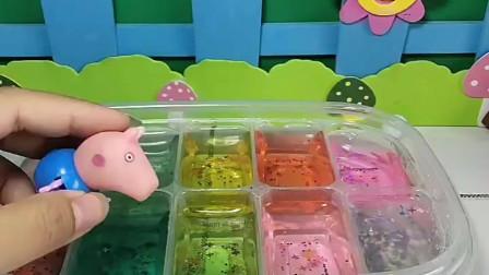宝宝喜欢玩玩具:乔治,这可不是果冻