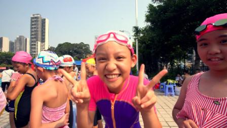 2019-10-12南沙区中小学生首届游泳比赛