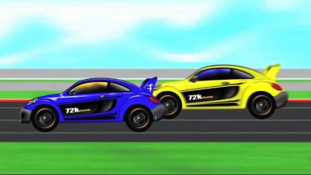 小汽车组装拼装 驾驶操作小汽车赛车比赛 汽车制造厂休闲益智游戏