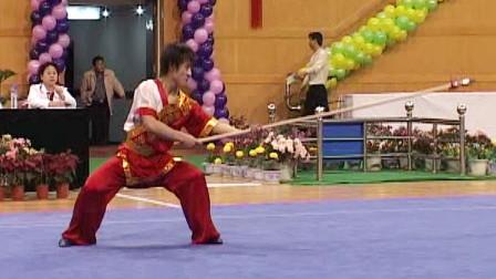 2005年第十届全运会男子武术套路预赛 男子枪术 009 程果(四川)