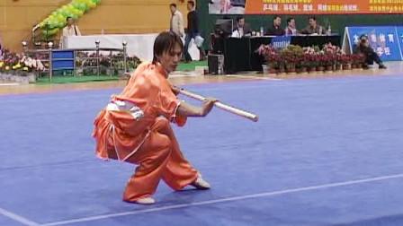2005年第十届全运会男子武术套路预赛 男子枪术 014 赵军(上海)