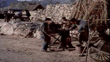 怀旧影视金曲  1977年老电影《大刀记》插曲《大刀何时伸冤仇》