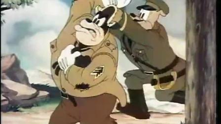 唐老鸭从军记:班长抱着炮弹炸唐老鸭,结果却把自己和炸了!