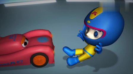 爱看动漫59_汽车人总动员:小汽车有了新名字特别兴奋,竟把卡卡撞倒,真调皮