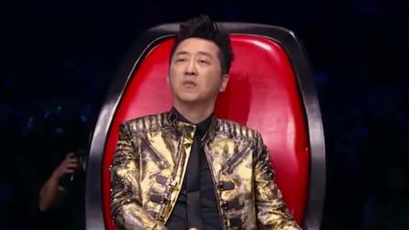 中国好声音:谢霆锋、刘郡格《作曲家》河流一样的歌声细腻感人