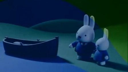 米菲:米菲划船回到岸上后,兔妈妈已经做好了晚餐!