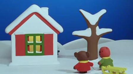 米菲:米菲穿上外套围上围巾,终于可以和朋友们一起玩了!