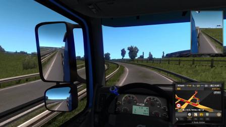 欧洲卡车模拟2 EX的周五自驾游 第四集