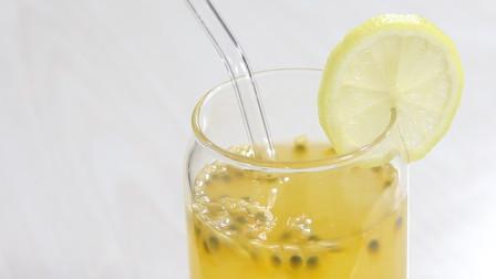 百香果柠檬蜜怎么做好吃,简简单单几步,在家就可以做出健康饮料