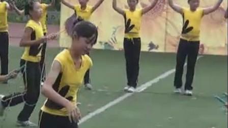 六一儿童节花式跳绳表演