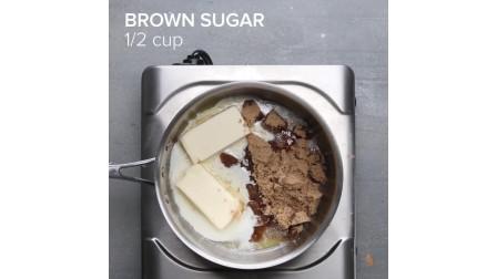 甜点还不知道吃什么吗,还不知道怎么做吗,教你制作香蕉面包蛋糕松露
