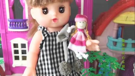 芭比娃娃找奥特蛋,面包冰淇淋童趣乐园