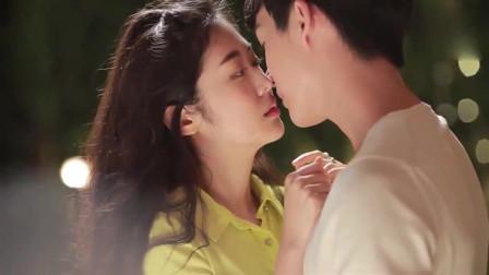 总裁浪漫告白灰姑娘,终于修成正果,热吻在一起