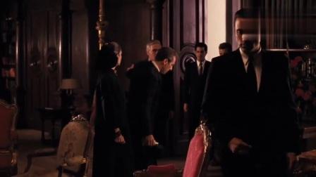 教父:本剧最经典的一段,麦克已无能为力,文森特接管柯里昂