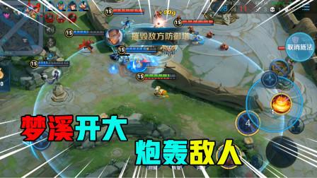 王者荣耀:沈梦溪非常暴躁,发现敌人二话不说直接仍个大炸弹
