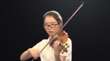 """""""最具天才的青年演奏家""""、柏林德意志交响乐团首席陆威小提琴曲目教学 查尔达什舞曲(二)快板部分的演奏"""