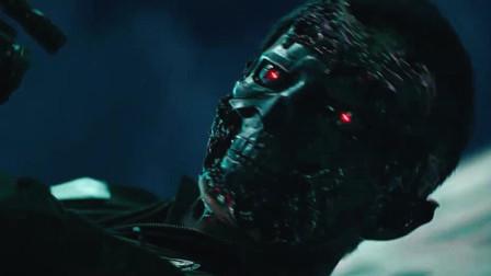 《终结者:黑暗命运》新终结者大开杀戒,人群中扎出个血葫芦串子
