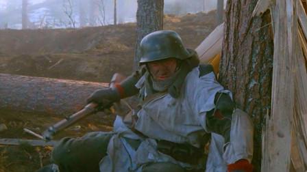 这才是残酷的战场,芬兰士兵坚守阵地,遭遇敌机疯狂轰炸